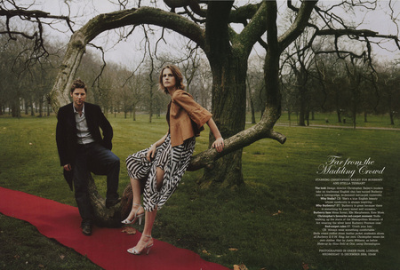 CHRISTOPHER BAILEY / STELLA TENNANT